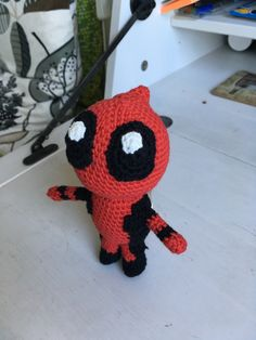 amigurumi deadpool