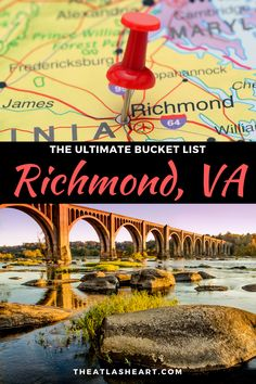 The best things to do in Richmond, VA from a local! Find out the best attractions and areas of the city to explore for your upcoming trip all in one post. The Places Youll Go, Places To See, Stuff To Do, Things To Do, Virginia Vacation, Lights Tour, Richmond Virginia, Us Travel, Travel Info