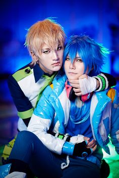 DRAMAtical Murder Noiz x Aoba - Noiz, Aoba Segaraki Cosplay Photo - WorldCosplay