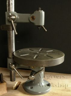 Universal Pillar Tool - an adapter with a square bushing holds number/letter stamps. I can use this idea on my projects.