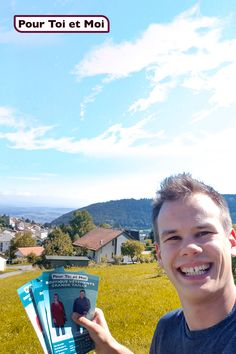 Joël ancien boulanger devenu graphiste, sillonne la Suisse Romande avec les couleurs d'automne. #grandetaille #mode #marketing #automne