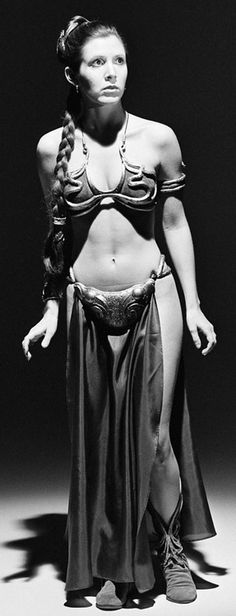 Star Wars - Leia Organa / Black & White Photography