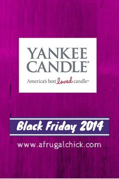 Black Friday 2014: Yankee Candle