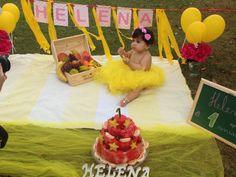 Smash the fruit helena amarelo e rosa