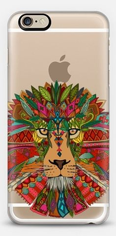 lion transparent #exclusive to @casetify #illustration #cat #lion #nature #tribal #feathers #geometric #color #transparent #clear #phone #case ~ get $10 off using code: 5A7DC3