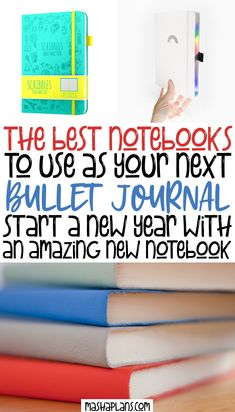Don't know what notebook to get for you new Bullet Journal? Check this list of 13 amazing Bullet Journal notebooks for any budget. Pick your perfect journals to create beautiful Bullet Journal spreads based on criteria like: page number, paper quality, pre-made pages and more. Find the perfect match among all the brands stationery market offers right now and start your Bullet Journal today. #mashaplans #bulletjournal #bujo #stationery #stationeryaddict #notebook