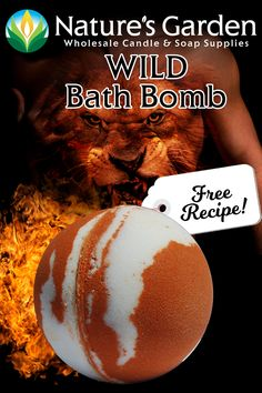 Free Wild Bath Bomb Recipe by Natures Garden