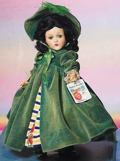 "~ Composition ""Scarlett O'Hara"" By Madame Alexander ~ (1936)"
