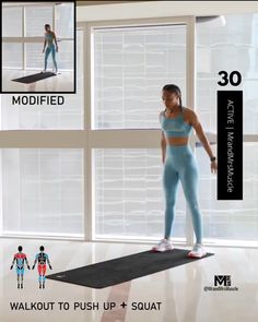 Fitness Workouts, Full Body Hiit Workout, Hiit Workout At Home, Gym Workout Videos, Fitness Workout For Women, Weight Loss Workout Plan, At Home Workouts, Cardio Hitt Workout, Hiit At Home