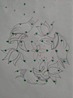Simple Rangoli Designs Images, Rangoli Designs Flower, Rangoli Border Designs, Colorful Rangoli Designs, Beautiful Rangoli Designs, Kolam Designs, Mehandi Designs, Lotus Rangoli, Small Rangoli