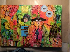 Zettiology Land of Odd journal pages by Stef