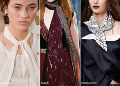 Spring/ Summer 2016 Accessory Trends: Scarves  #trends #accessories