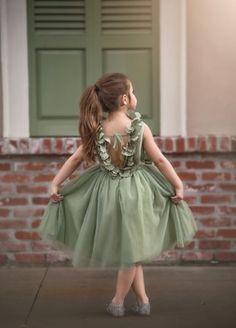 AERALINA DRESS CELADON