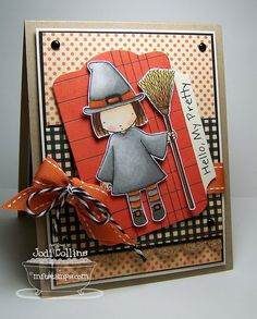 Halloween Cards, Holidays Halloween, Halloween Gifts, Halloween Themes, Black Licorice, Mft Stamps, Cricut Cards, Fall Cards, Pretty And Cute