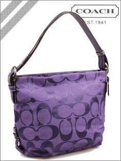 Purple coach