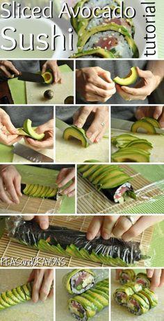 Sushi Avocado Roll