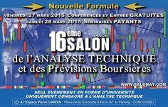 Salon Analyse Technique 2015 - http://blog.diamond-trading-academy.com/salon-analyse-technique-2015/