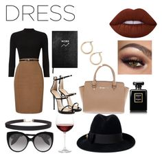 """Still classy"" by fashinqueen11 on Polyvore featuring Phase Eight, Sloane Stationery, Giuseppe Zanotti, Michael Kors, Humble Chic, Chanel, Nordstrom, Lime Crime, Alexander McQueen and Gucci"