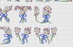 Daisy alphabet 4