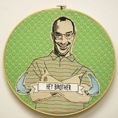 Arrested Development embroidery