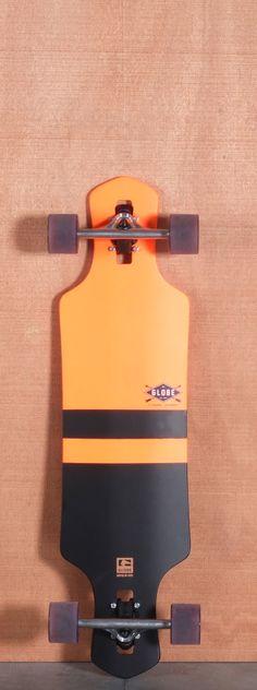 "Globe 35"" Geminon Orange Longboard Complete"