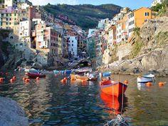 Mirando al mundo con sentimientos: Los colores de Cinque Terre