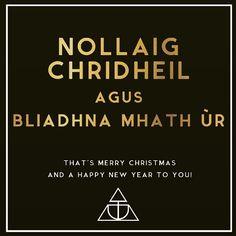Merry Christmas Everyone!  #tirdhaimh #merrychristmas #christmas #luxuryscottishdesign