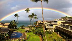 2. See a rainbow.