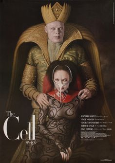 ''The Cell'' 2000 Japanese movie poster. Horror Movie Posters, Movie Poster Art, Horror Movies, Movie Costumes, Cool Costumes, Amazing Costumes, Scary Movies, Great Movies, Strange Movies