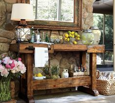 Fabulous - patio console table