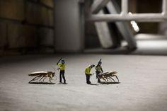 Little people project by Slinkachu