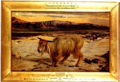 The Scapegoat - William Holman Hunt and The Tortured Student Scapegoat graffiti picture by jeanne article