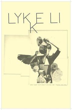 Lykke Li music gig posters | Swedish indie princess Lykke Li is featured on the Twilight: New Moon ...