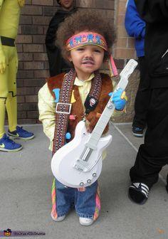 Jimi Hendrix Baby Halloween Costume