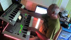 maid of orleans - OMD -  COVER on Tyros 3