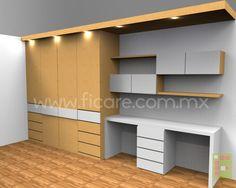 Closet Modelo #682  www.ficare.com.mx
