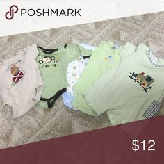 Bundle of 3 months baby onesies Bundle of 3 months baby onesies Other