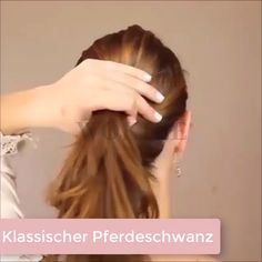 """Bad Hair Days"" in einzigartige Looks verwandeln!- ""Bad Hair Days"" in einzigartige Looks verwandeln! Braid Hairstyles, Long Hairstyles, Wedding Hairstyles, Lazy Girl Hairstyles, Ponytail Hairstyles Tutorial, Easy Everyday Hairstyles, Office Hairstyles, Hairstyle Ideas, Hair Tips"