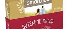 """Propuestas románticas Smartbox Las cajas-regalo de San Valentín vienen con una funda gratuita en color rojo y la leyenda """"Quiéreme mucho""""."""