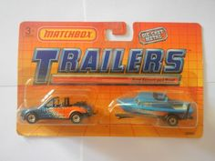 Matchbox Trailers Ford Escort and Boat Blue (1) - http://hobbies-toys.goshoppins.com/diecast-toy-vehicles/matchbox-trailers-ford-escort-and-boat-blue-1/