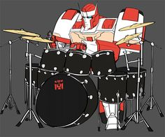 YES RATCHET AS A DRUMMER HAHAHAHAHAH
