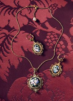 old floral filigree jewelry with miniatures - D&G Jewellery | Jewellery Dolce&Gabbana