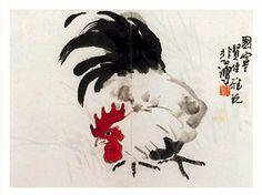 徐悲鸿的画鸟 - 中国文化