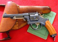 This Swiss model revolver was introduced 5 May 1882 and was part of the Swiss arsenal and saw concurrent service with the M1900 Luger, introduced, officially April 2,1901. Both models saw service into the 1960s.