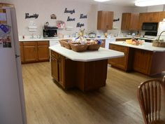 The kitchen is the heart of RMHCCI and is a place where families can gather to enjoy some food prepared by volunteers through the Guest Chef program.