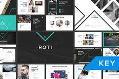 ROTI Keynote Template by Angkalimabelas on @creativemarket