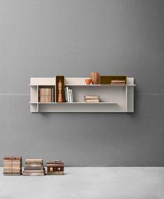 #DOMINO #complementi #arredo #interni #librerie #legno #madeinitaly #design #libri #grey #grigio #contemporaneo  #componibili