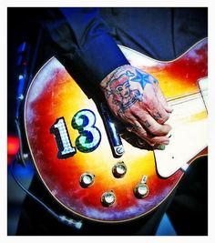 Social Distortion-13's my lucky number, to you it means stay inside. Black cat done cross my path, no reason to run and hide.