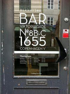 Located in the Vesterbro neighborhood of Copenhagen, the recently opened Mikkeller Bar is the first venture of Danish cult brewer Mikkel Borg Bjergs