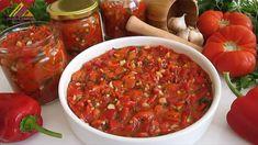 Meze Recipes, Sauce Recipes, Healthy Recipes, Breakfast Sauce Recipe, Turkish Recipes, Ethnic Recipes, Brown Sauce, Tart, Chili